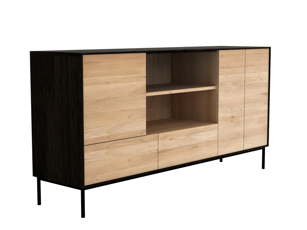 Oak,Ethnicraft,Cabinets & Sideboards,chest of drawers,cupboard,furniture,hutch,plywood,shelf,shelving,sideboard