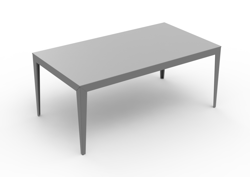 Straight Legs, White - 01 RAL 9016,Matière Grise,Dining Tables,coffee table,desk,end table,furniture,outdoor table,rectangle,sofa tables,table