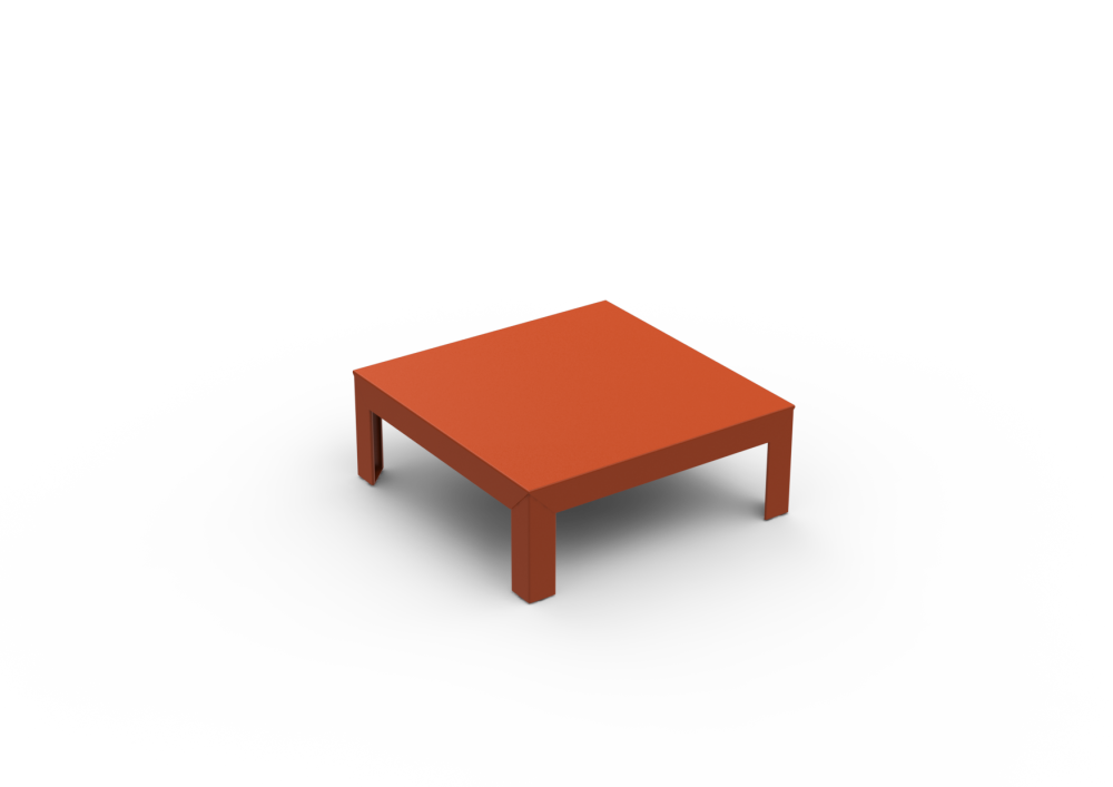 Shop Zef Extra Low Square Table 80x80