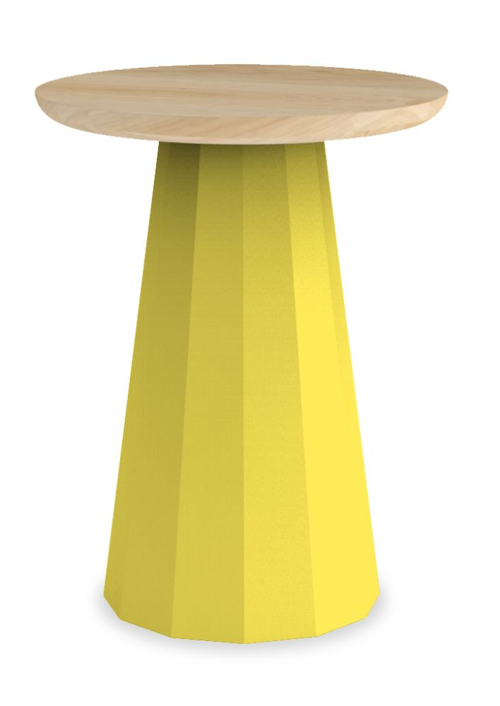 White - 01 RAL 9016,Matière Grise,Stools,coffee table,furniture,stool,table,yellow