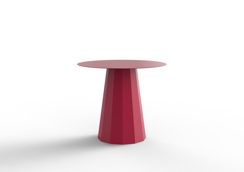 White - 01 RAL 9016, Steel,Matière Grise,Dining Tables