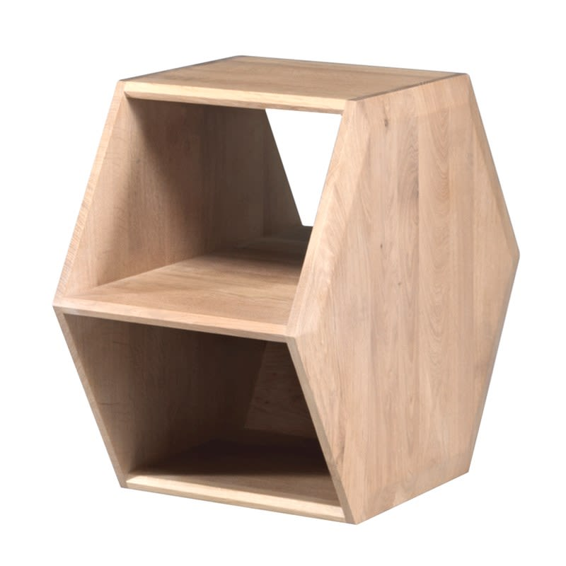 Hexa Side Table by Wewood