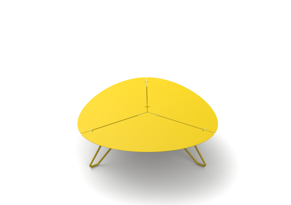 White - 01 RAL 9016,Matière Grise,Coffee & Side Tables,furniture,table,yellow