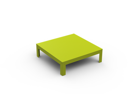 Yes, White - 01 RAL 9016,Matière Grise,Coffee & Side Tables,coffee table,furniture,outdoor furniture,outdoor table,rectangle,table,yellow