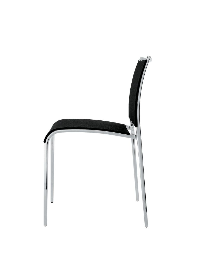 Reti S01 Net - Black, B62 Matt White, No,Desalto,Dining Chairs,chair,furniture