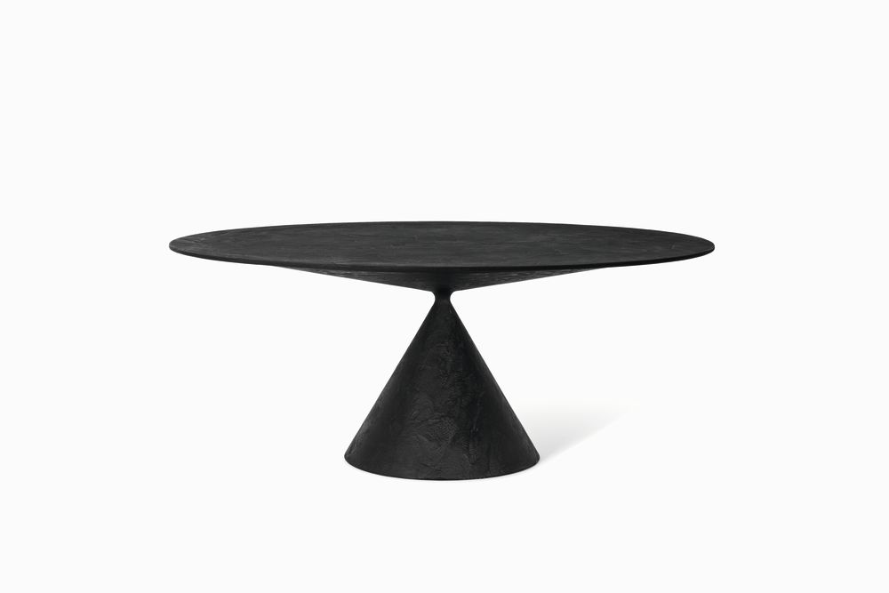 180cm, D67 Lava Stone, No,Desalto,Dining Tables,coffee table,end table,furniture,table