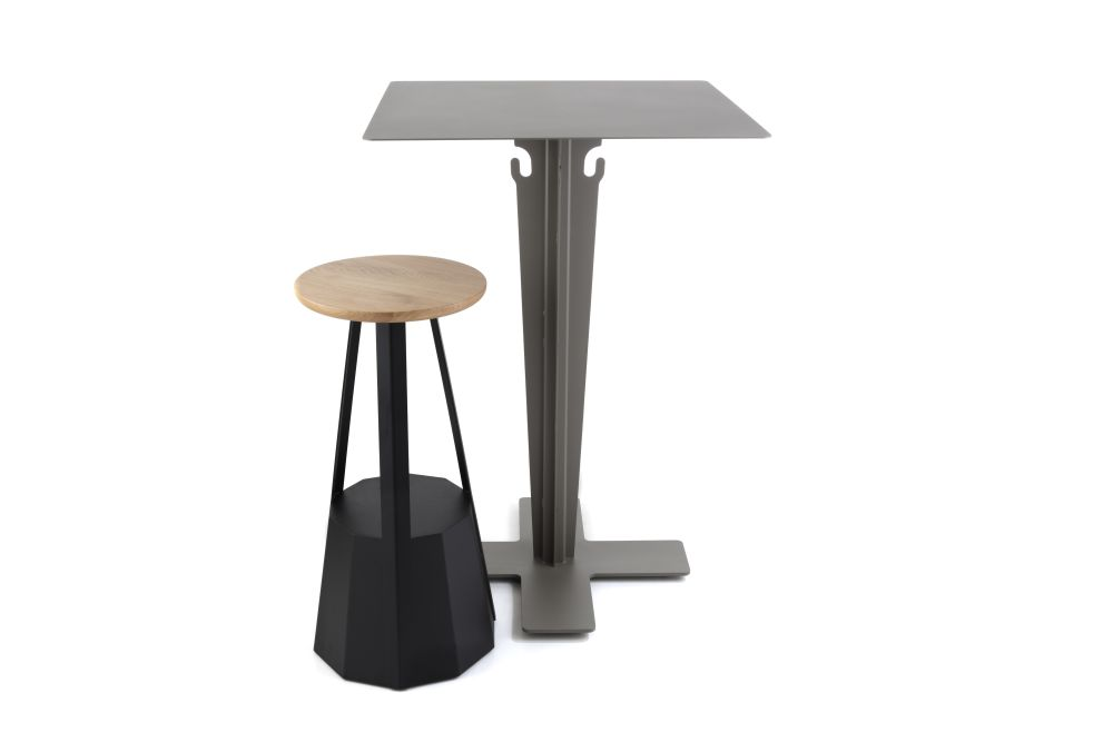 White - 01 RAL 9016,Matière Grise,Stools,furniture,stool,table