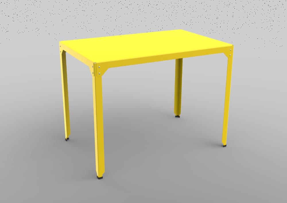 Hegoa Medium Rectangular Standing Table 121x79x90 by Matière Grise