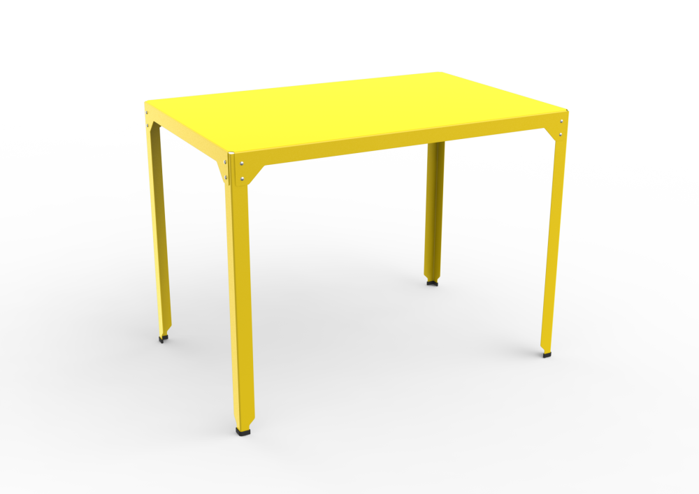 White - 01 RAL 9016,Matière Grise,High Tables,desk,end table,furniture,outdoor table,rectangle,table,yellow