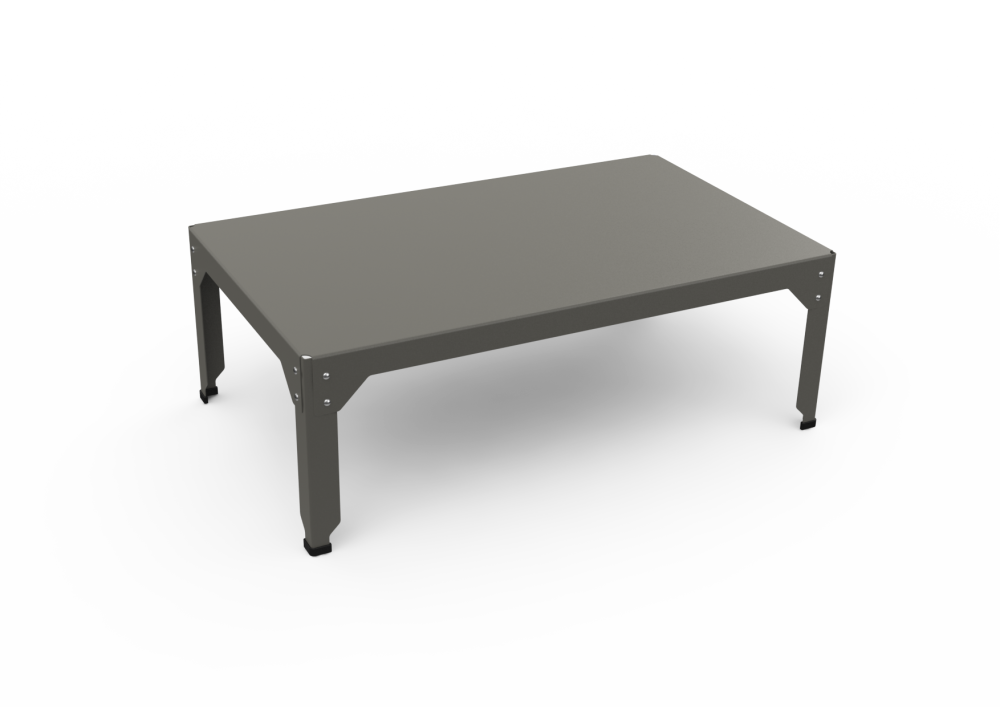 White - 01 RAL 9016,Matière Grise,Coffee & Side Tables,coffee table,end table,furniture,outdoor table,rectangle,table