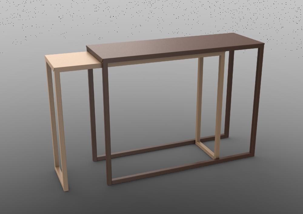 Burga Console Table by Matière Grise