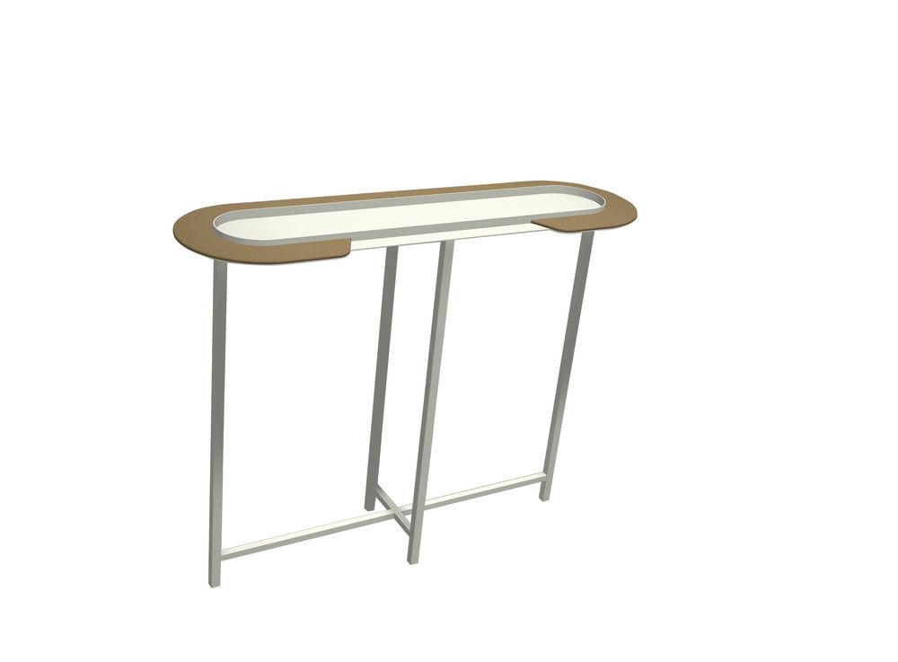 White - 01 RAL 9016,Matière Grise,Console Tables,furniture,product,table