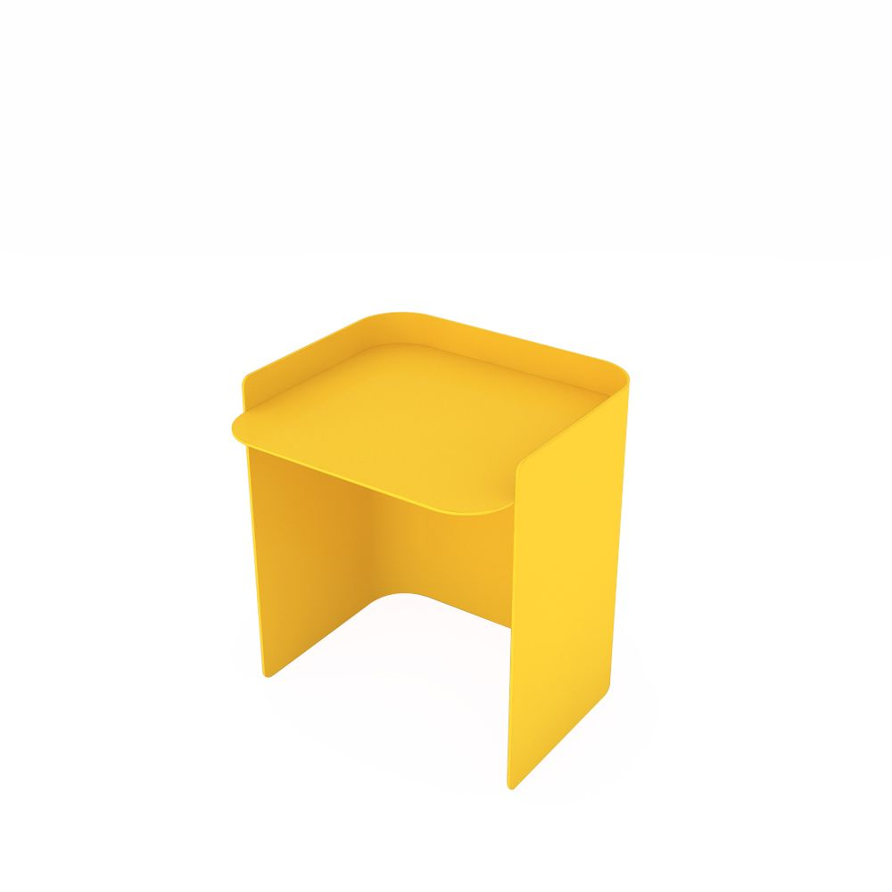 White - 01 RAL 9016, 35.5,Matière Grise,Coffee & Side Tables,furniture,stool,table,yellow