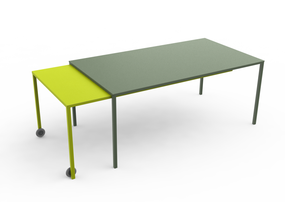 White - 01 RAL 9016, White - 01 RAL 9016,Matière Grise,Office Tables & Desks,coffee table,desk,furniture,outdoor table,rectangle,table