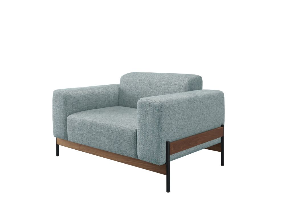 Oak Natural, Lana 007 Canary,Wewood ,Armchairs,chair,club chair,couch,furniture,futon,loveseat,outdoor sofa
