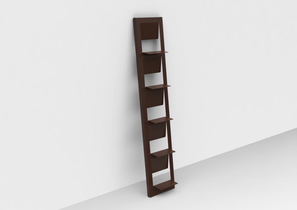 White - 01 RAL 9016,Matière Grise,Bookcases & Shelves,bookcase,brown,furniture,shelf,shelving