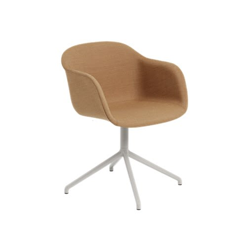70219 Wooly Black,Muuto,Office Chairs,beige,chair,furniture,line