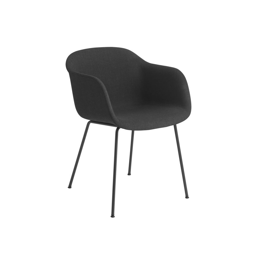 Wooly by Nevotex Black,Muuto,Armchairs,chair,furniture,line