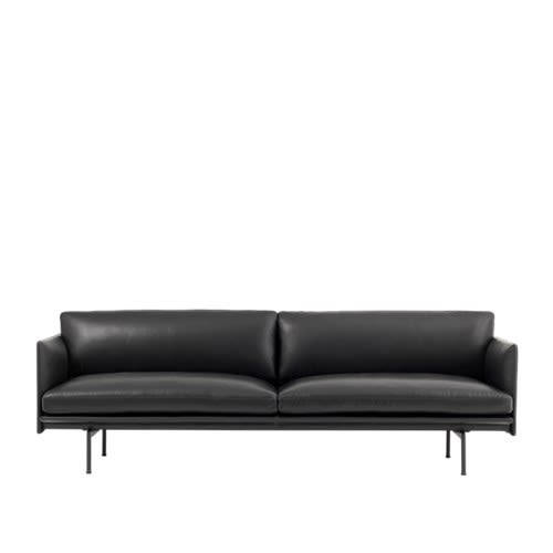 Easy Leather,Muuto,Sofas,couch,furniture,leather,sofa bed,studio couch
