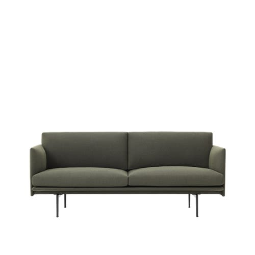 Outline Sofa - 2 Seater by Muuto