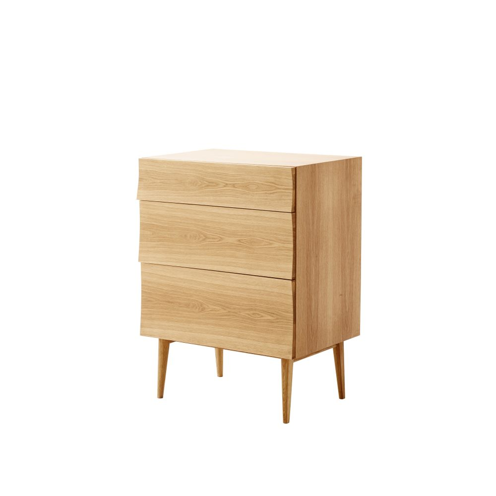 Oak,Muuto,Chest of Drawers,chest of drawers,chiffonier,drawer,dresser,furniture,nightstand