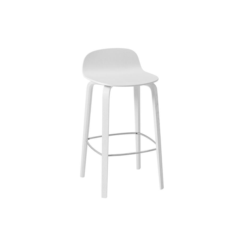 Oak, 75,Muuto,Stools,bar stool,furniture,stool,white