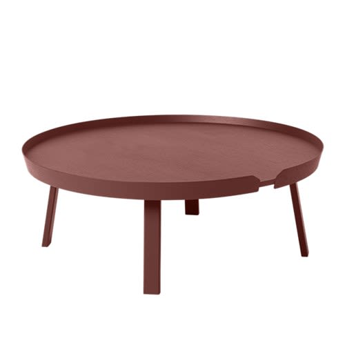 Dark Red,Muuto,Coffee & Side Tables,coffee table,furniture,table