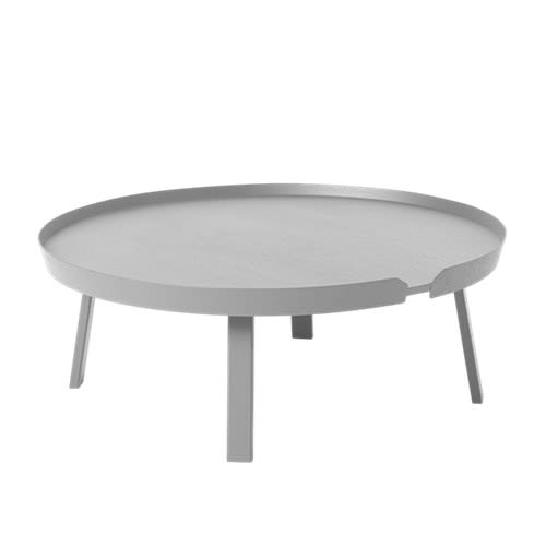 Ash,Muuto,Coffee & Side Tables,coffee table,furniture,oval,table