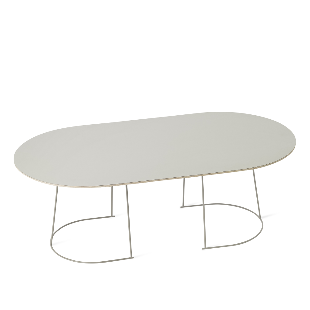 Large, Grey,Muuto,Tables & Desks,coffee table,furniture,oval,table