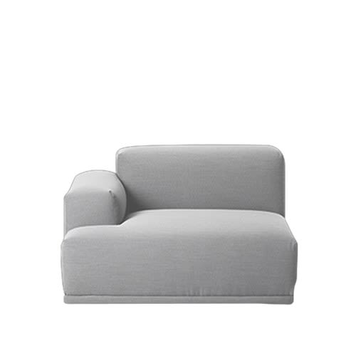 Connect Modular Sofa - Left Armrest by Muuto