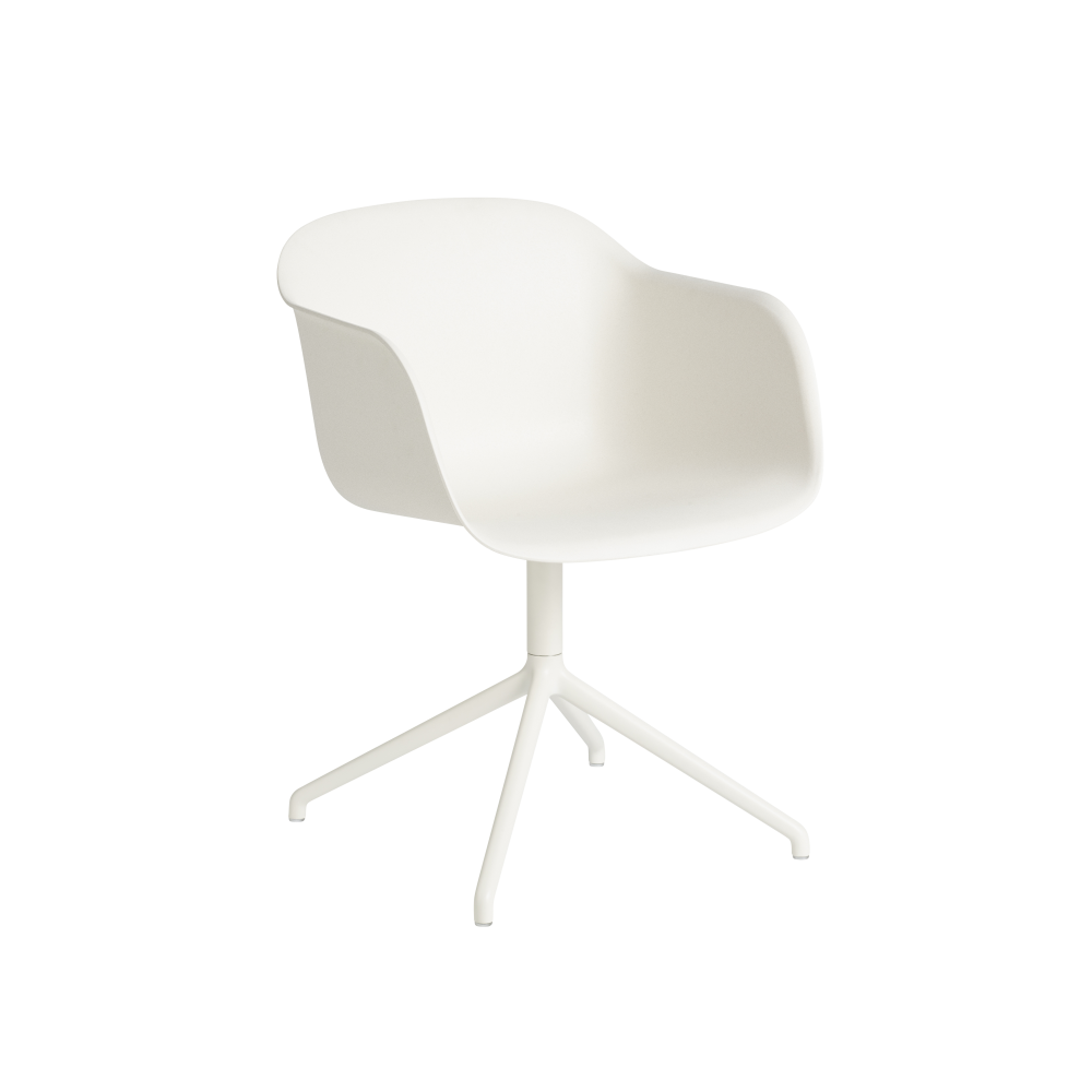 Fiber Armchair Swivel Base With Return by Muuto