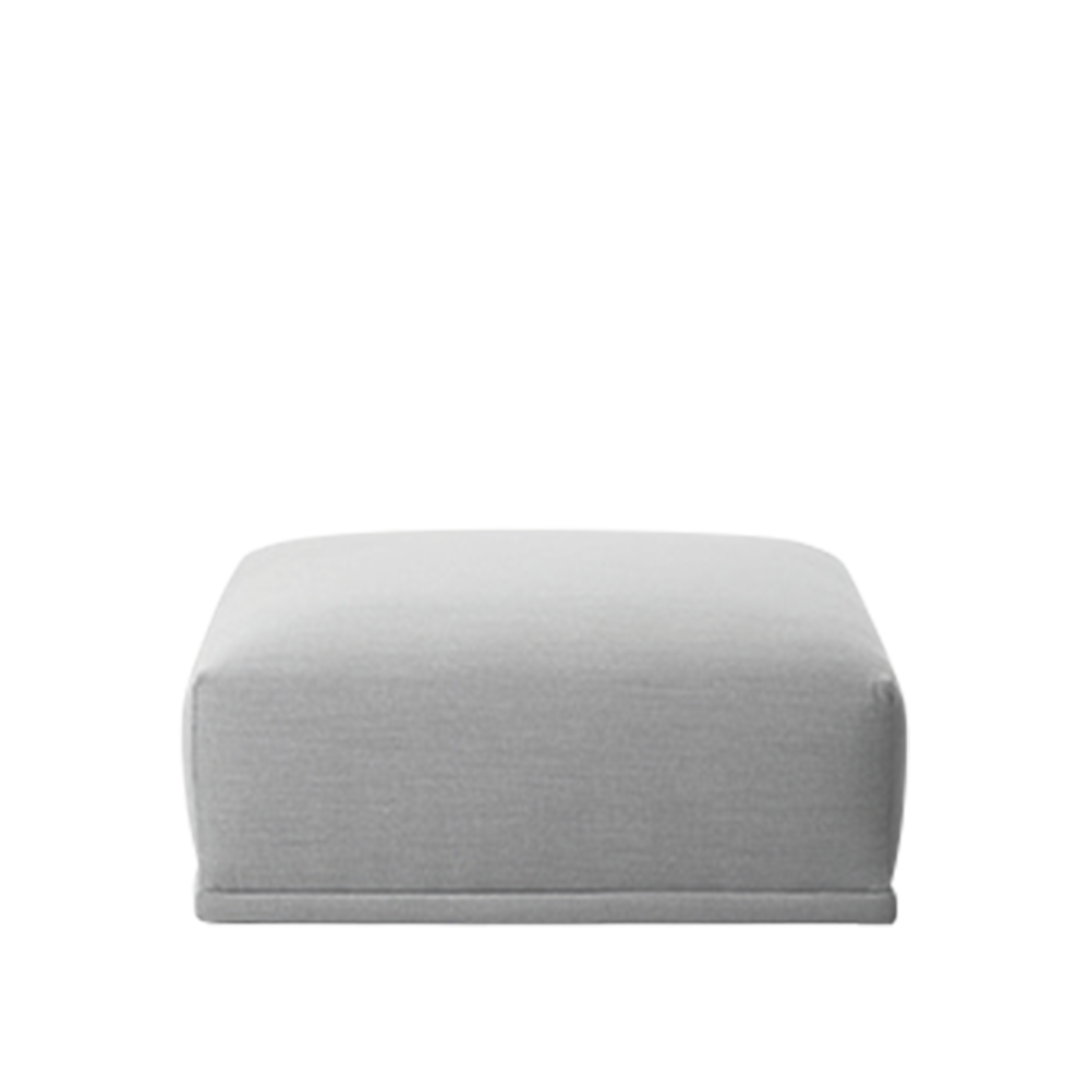 Connect Modular Sofa - Short Ottoman by Muuto