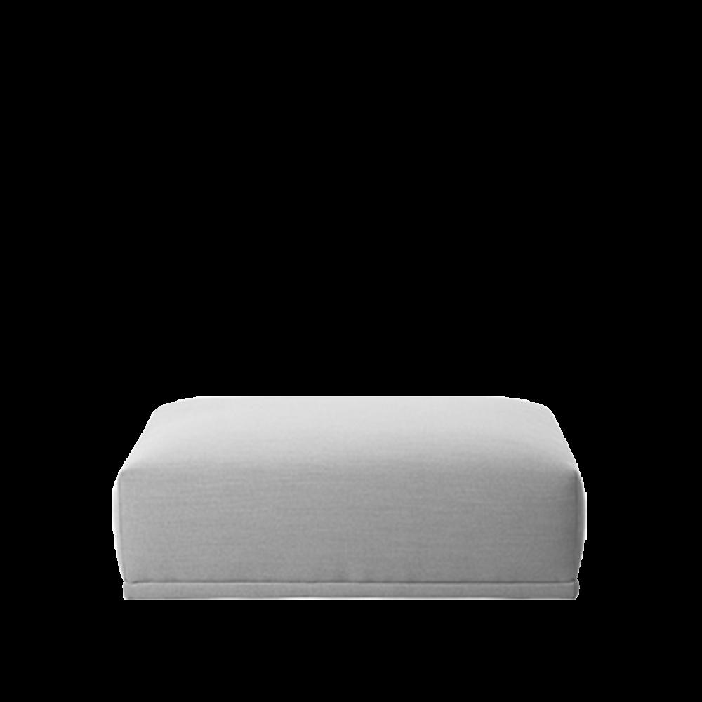 Connect Modular Sofa - Long Ottoman by Muuto