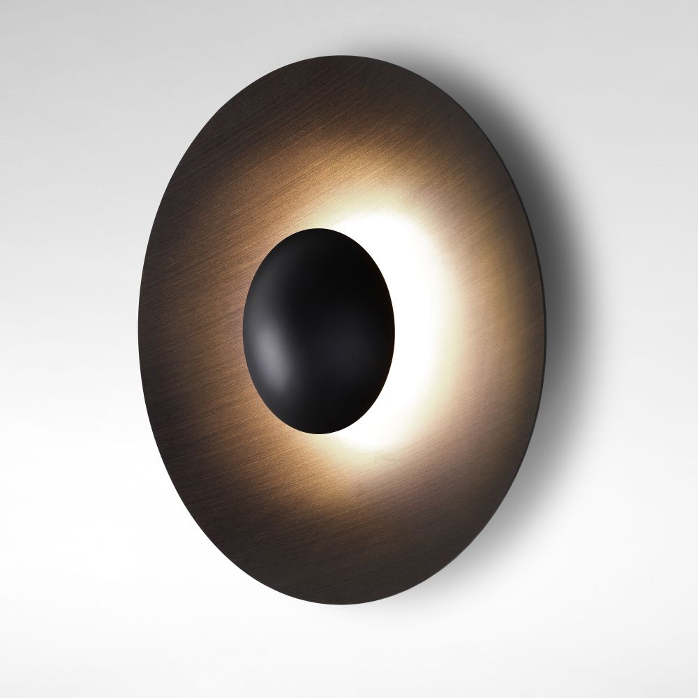 Marset - Wenge, 60cm,Marset,Wall Lights,ceiling,circle,lighting,sconce