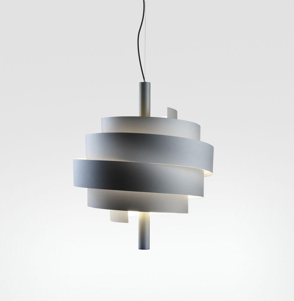 Piola - Graphite,Marset,Pendant Lights,ceiling,ceiling fixture,lamp,light,light fixture,lighting,white
