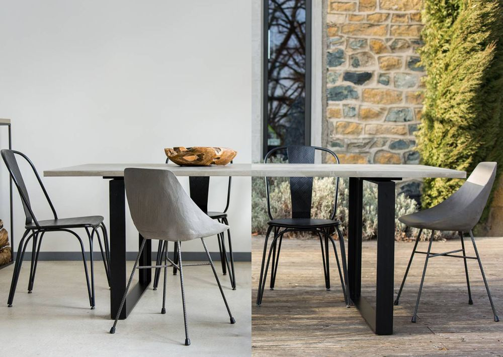 Alps Dining Table From Lyon Beton