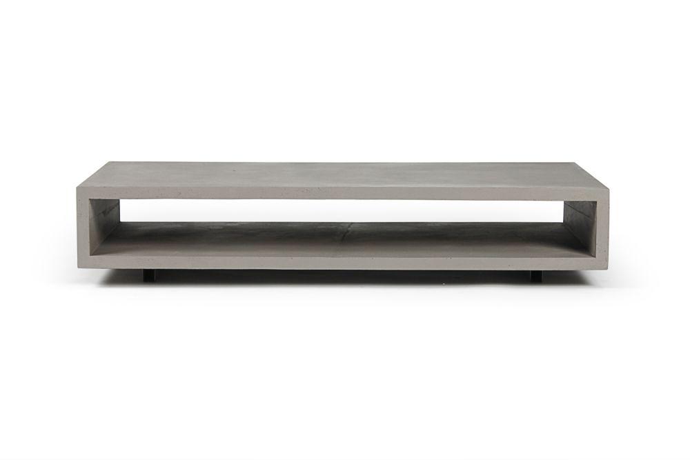 Concrete Monobloc Coffee table by Lyon Beton