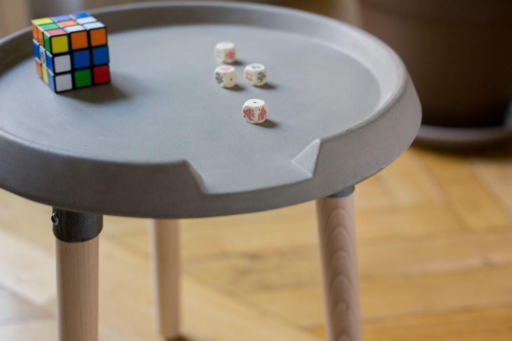 Beton Mix Side Table From Lyon Beton