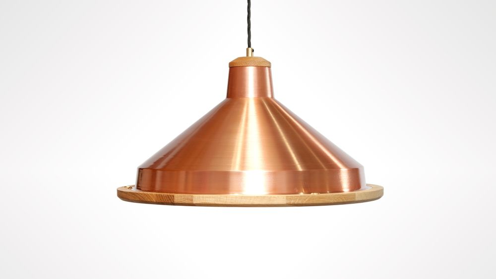 Trafford Lamp Small by Liqui Contracts