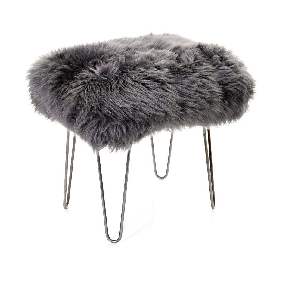 Ivory,Baa Stool,Occasional Chairs,fur