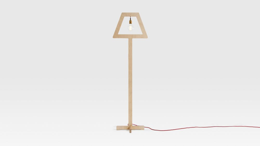 Symbol Floor Lamp by Liqui Contracts