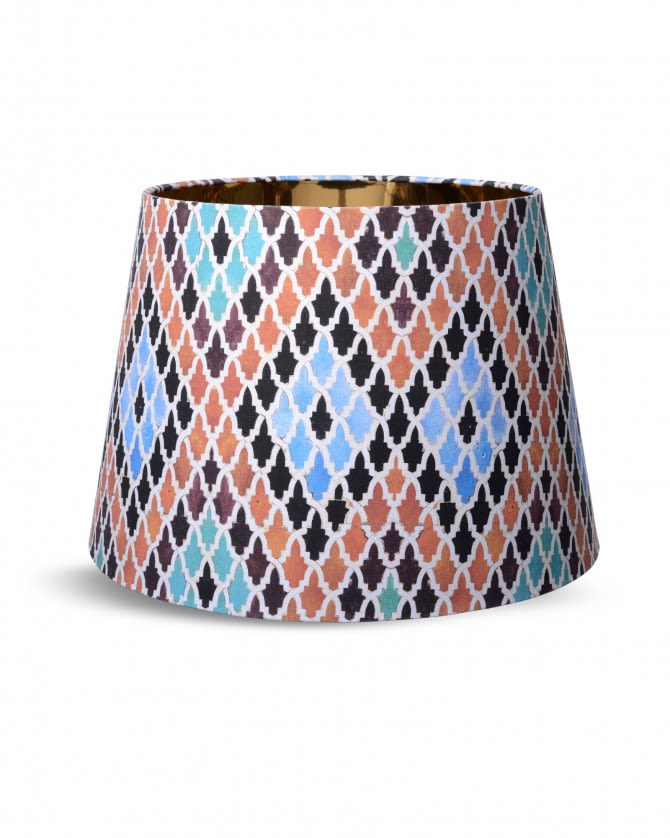 Mind The Gap,Table Lamps,beige,blue,bracelet,brown,fashion,fashion accessory,lampshade,lighting accessory,orange,turquoise