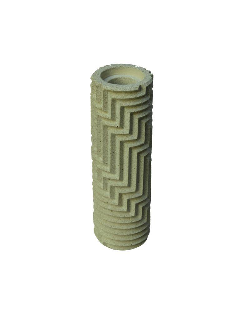 Herringbone Bud Vase - Sage Green by Phil Cuttance