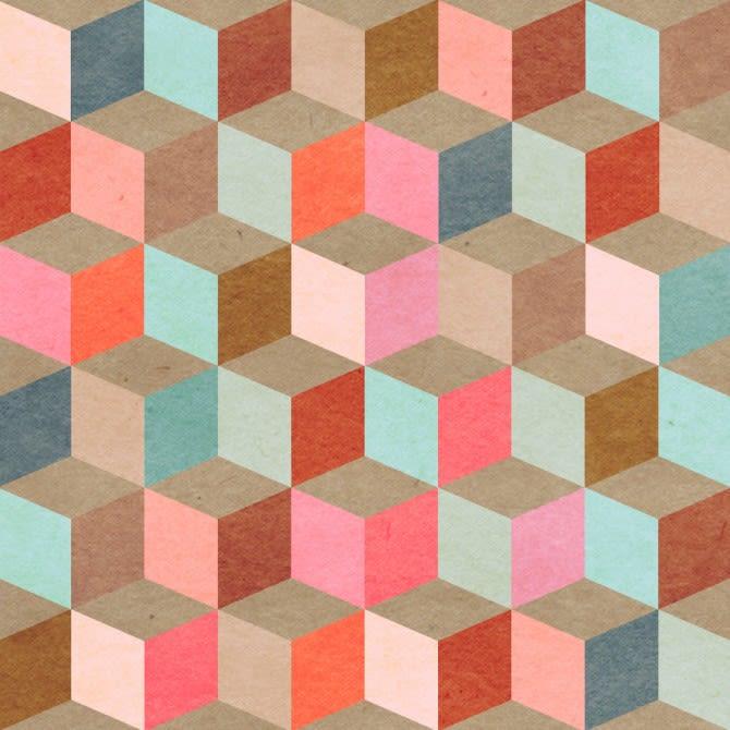 Mind The Gap,Wallpapers,beige,brown,design,floor,flooring,line,magenta,orange,pattern,pink,tile