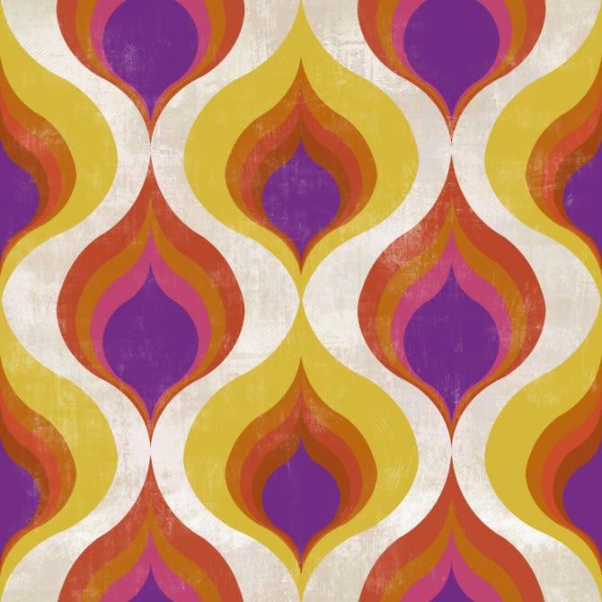 Ottoman Pattern Wallpaper by Mind The Gap
