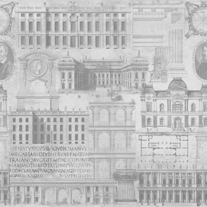Vitruvius Wallpaper by Mind The Gap