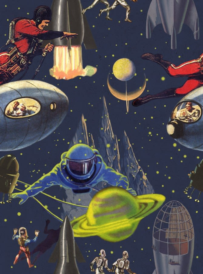 Intergalactic Wallpaper by Mind The Gap