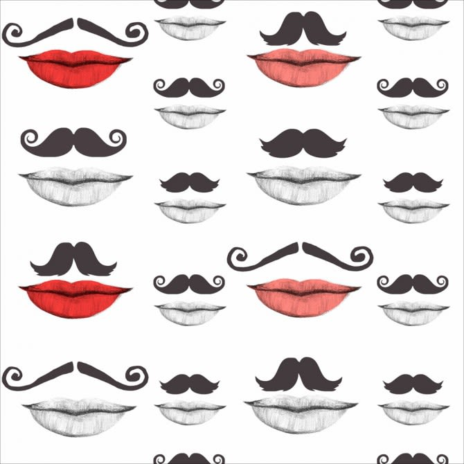 Mind The Gap,Wallpapers,clip art,eye,eyebrow,face,facial expression,head,illustration,line,lip,moustache,mouth,nose,red,smile,text,white