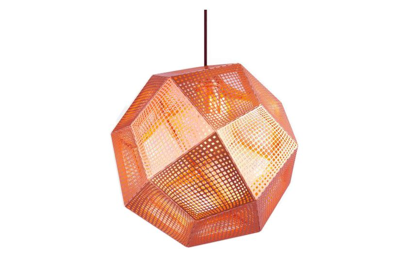 Black,Tom Dixon,Pendant Lights,amber,ceiling fixture,light fixture,lighting,orange