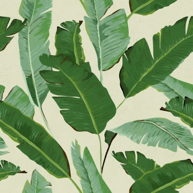 Banana Leaves Wallpaper by Mind The Gap